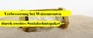 Read more about the article Keine coronabedingte Einstellung von Waisenrenten