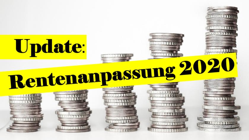 You are currently viewing Mehr Geld für Rentner trotz Corona – Die Rentenanpassung zum 1. Juli 2020