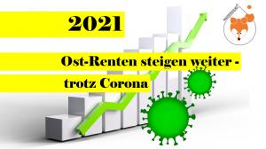 Read more about the article Trotz Corona – Ost-Renten werden auch 2021 steigen!