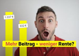 Read more about the article Wegen Grundrente: Zahlung von Minijob-Beiträgen kann Rente reduzieren